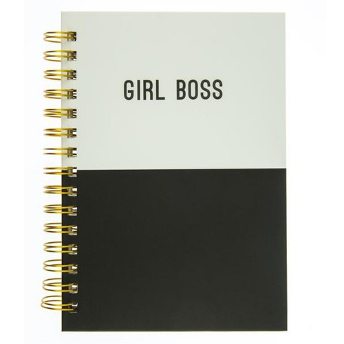 Girl Boss Hard Cover Journal