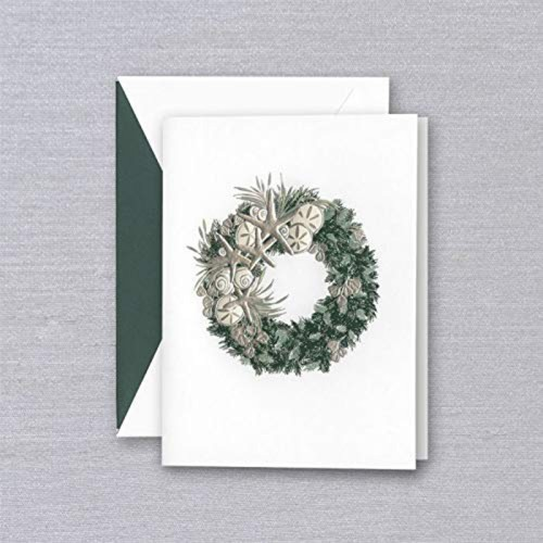 Coastal Wreath Boxed Holiday Cards